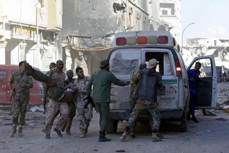 زخمی شدن غیرنظامیان در حمله هوایی پهپاد های اماراتی به طرابلس