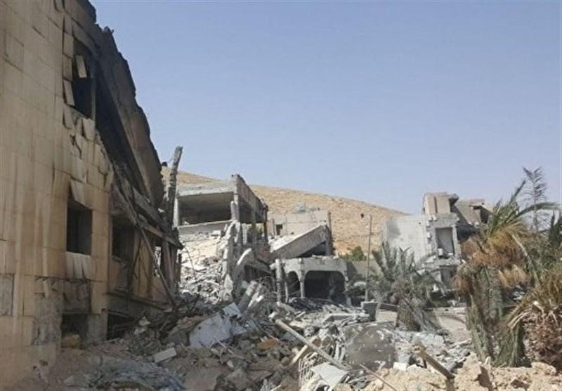 ائتلاف آمریکایی پایگاه خود در عین العرب را تخریب کرد