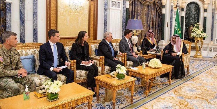 اسپر: با عربستان سعودی درباره رفتار شرورانه ایران اتفاق نظر داریم