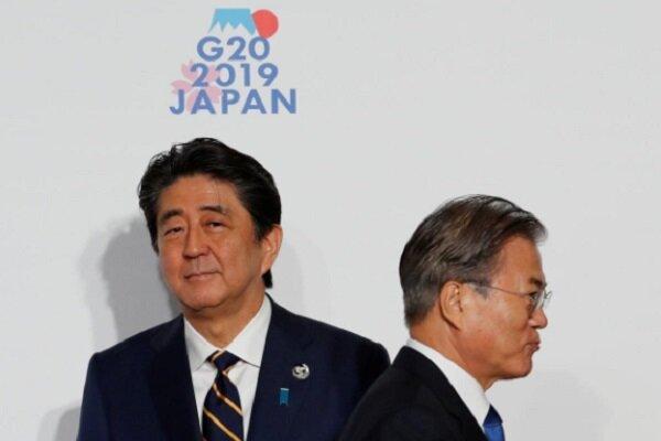 دیدار سران کره جنوبی و ژاپن با تاکید بر حل مسائل دوجانبه