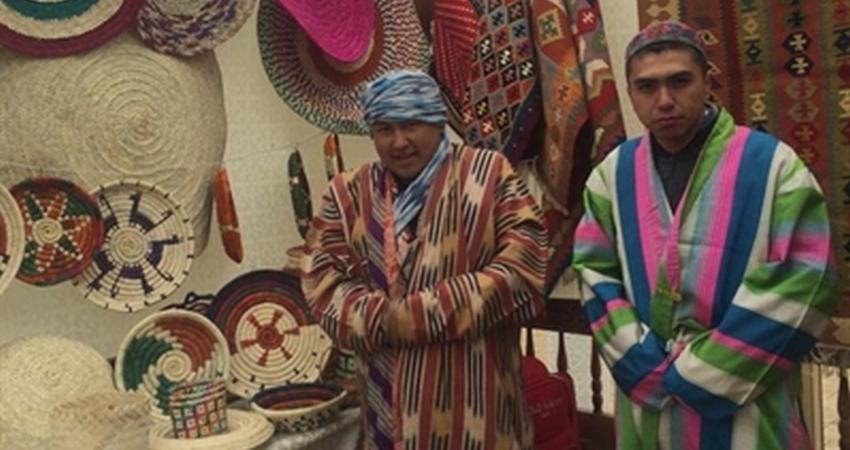 عرضه صنایع دستی فاخر بوشهر در نمایشگاه راه ابریشم قزاقستان