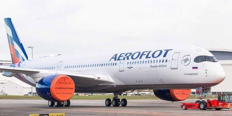 هواپیماهای مسافربری روسیه به پرواز از حریم هوایی ایران ادامه می دهند