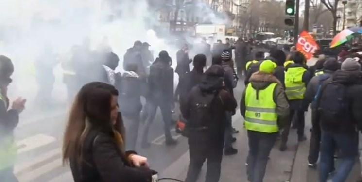 شروع پنجاه ونهمین شنبه تظاهرات ضد نظام سرمایه داری در فرانسه
