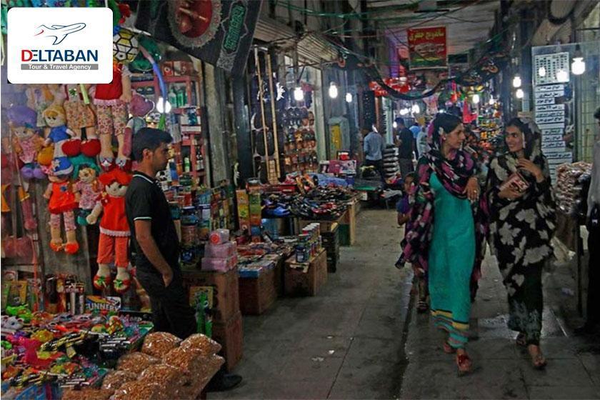 کالاهای با کیفیت و ارزان در بازار سنتی بندرعباس