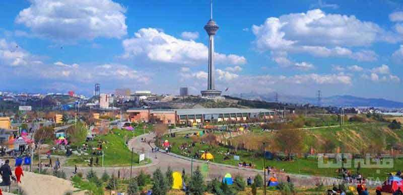 پارک پردیسان تهران ؛ ریه تنفسی پایتخت
