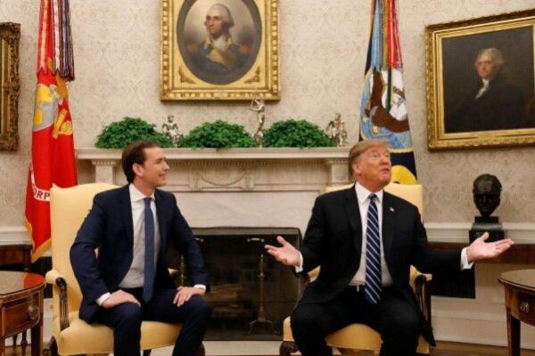 ملاقات ترامپ با صدراعظم اتریش لغو شد