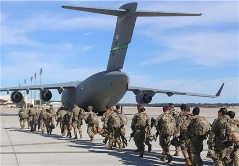 خروج ائتلاف آمریکایی مدعی مبارزه با داعش از پایگاه القائم عراق