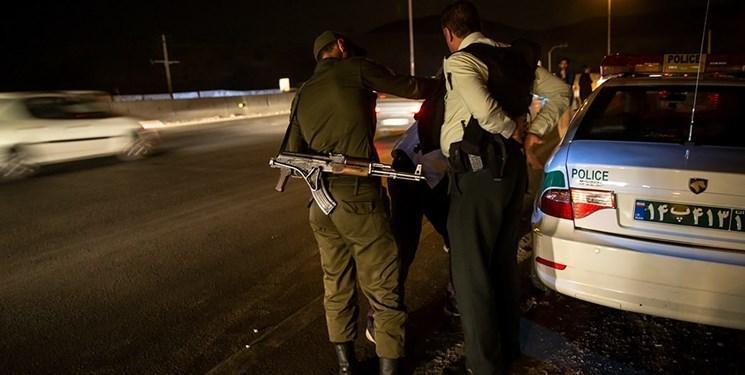 تیراندازی در خیابان فداییان اسلام، اصابت گلوله سارق را متوقف کرد