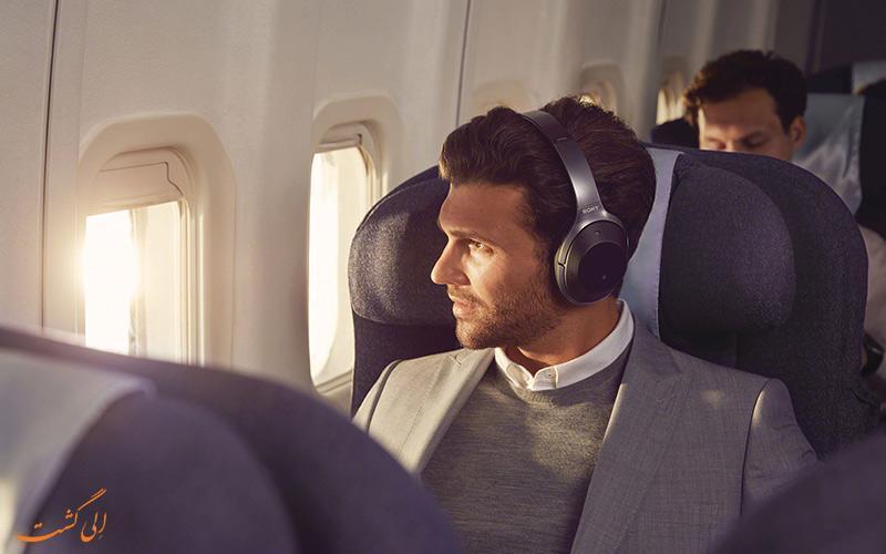 راهکارهایی برای سپری کردن زمان در پروازهای طولانی