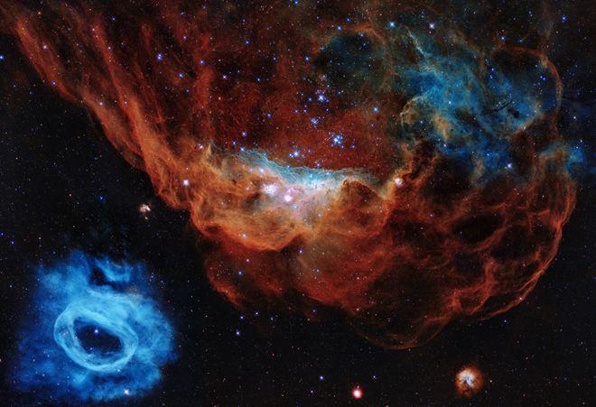 عکس تولد 30 سالگی تلسکوپ هابل