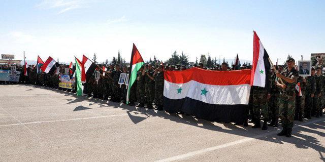 اعتراضات در حسکه سوریه علیه قانون سزار