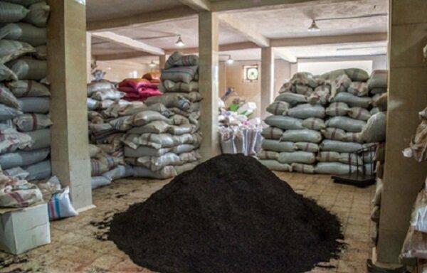 کشف 3500 تن چای فاسد در لنگرود