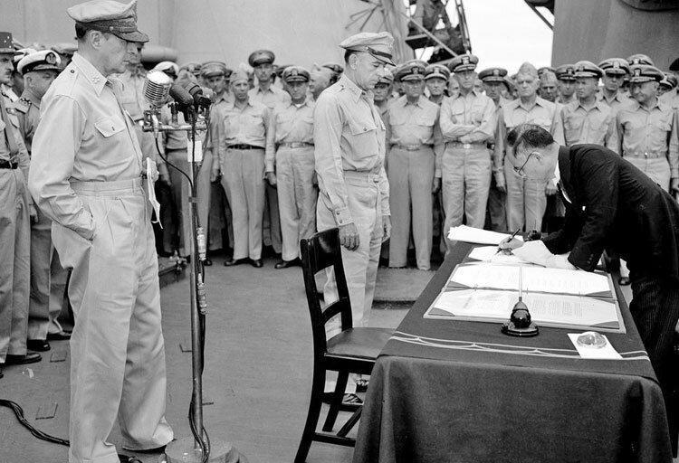 داستان یک شکست ، 75 سال از تسلیم شدن ژاپن در جنگ جهانی دوم گذشت