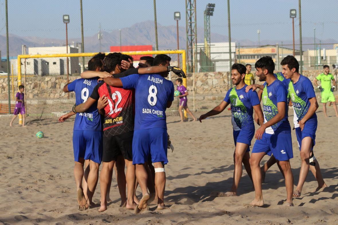 خبرنگاران گلساپوش یزد مقابل پارس جنوبی بوشهر به پیروزی رسید