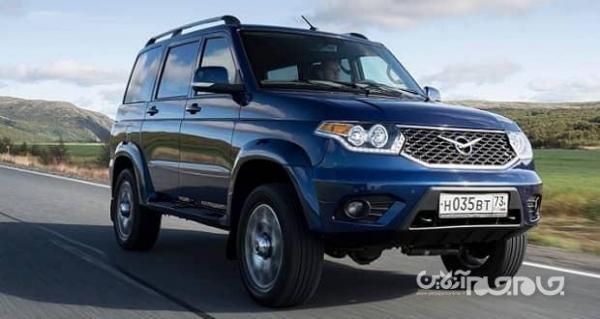 خودروی روسی یواز پاتریوت راه خود را به بازار آمریکا باز کرد