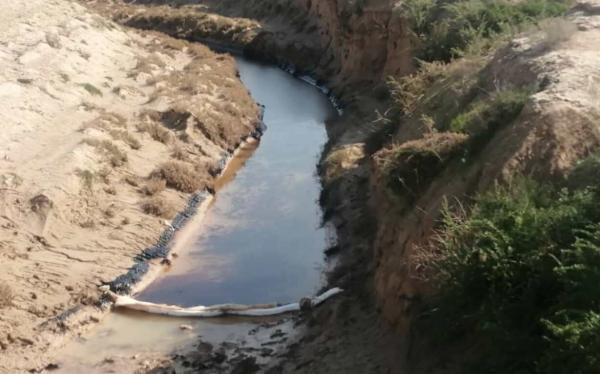 خبرنگاران اتمام پاکسازی دره بهون گناوه منوط به تائید محیط زیست است