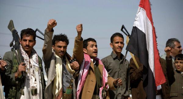 تظاهرات در صنعا در اعتراض به اقدام آمریکا علیه انصارالله