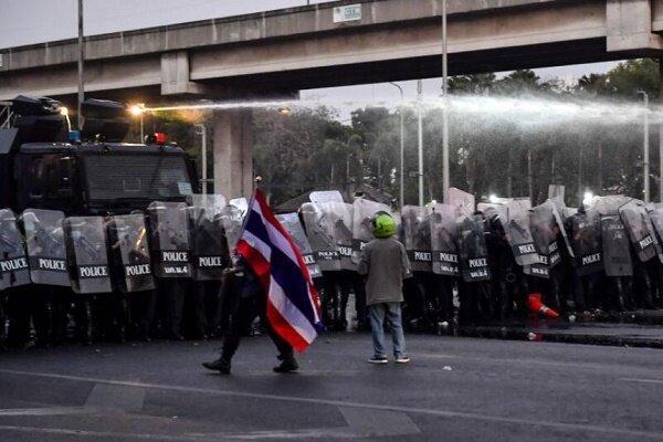 درگیری معترضین و نیروهای نظامی در تایلند