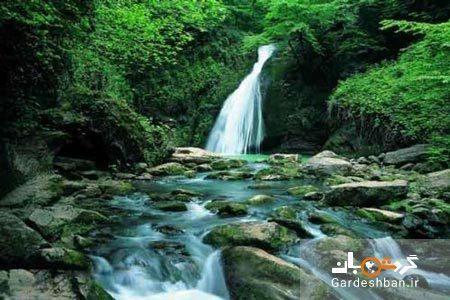 آبشار شیرآباد خان؛ طبیعت کارت پستالی گلستان، عکس