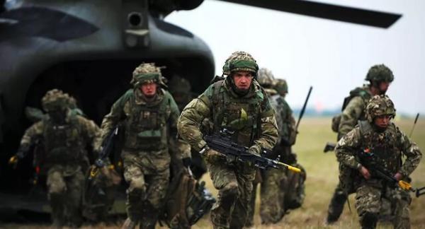 مشارکت انگلیس در عملیات 10 روزه علیه داعش در عراق