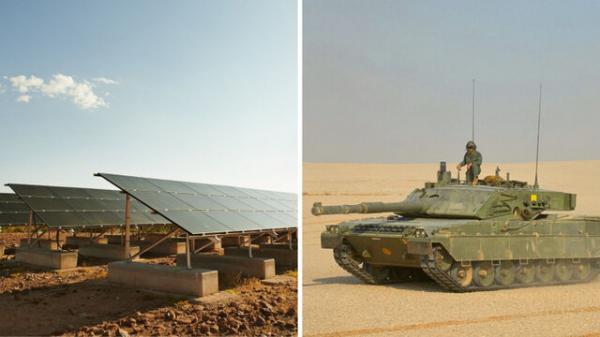 ناتو در حال ساخت تانک های مجهز به صفحه خورشیدی