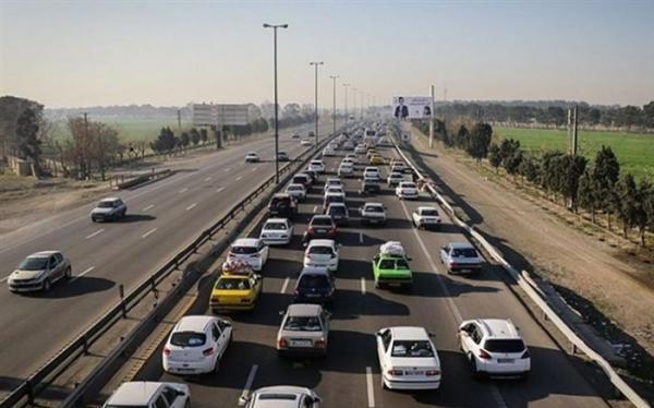 تردد وسایل نقلیه برون شهری 3.3 درصد کاهش یافت