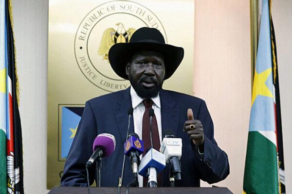 اعلام رسمی انحلال مجلس سودان جنوبی
