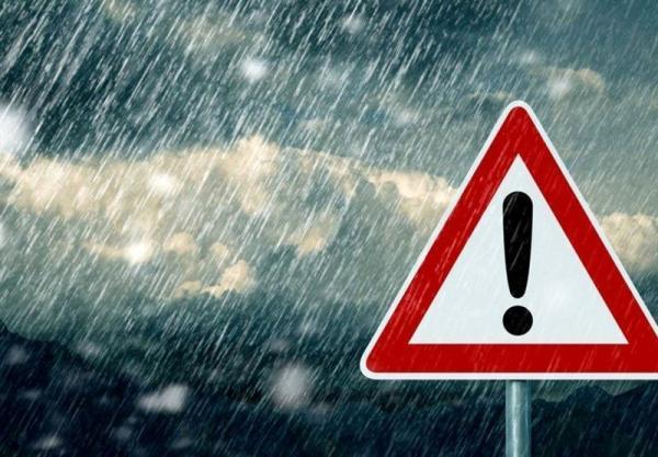 هشدار زرد هواشناسی به بعضی استان ها، رعدوبرق و باد شدید در 21 استان