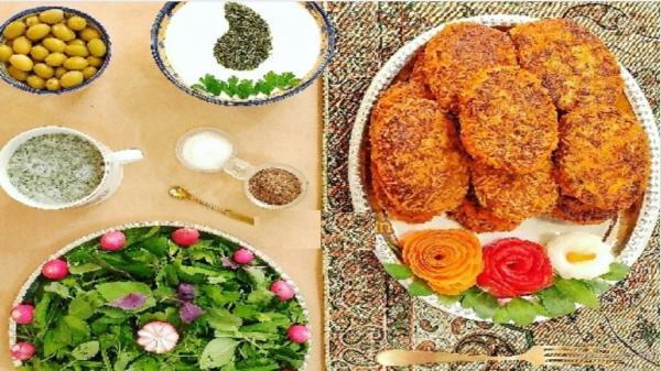 طرز تهیه کوفته کباب اصیل یزدی