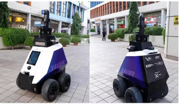 روباتی که رفتارهای غیرقانونی را ردیابی می کند